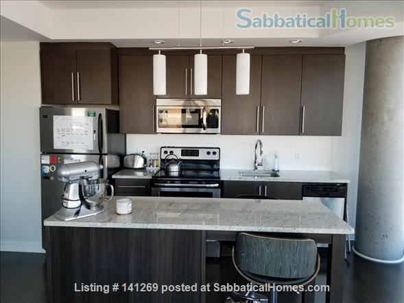 Fully Furnished 2 Bedroom + 2 Bath Condo, 5 min walk to U Ottawa Home Rental in Ottawa, Ontario, Canada 5