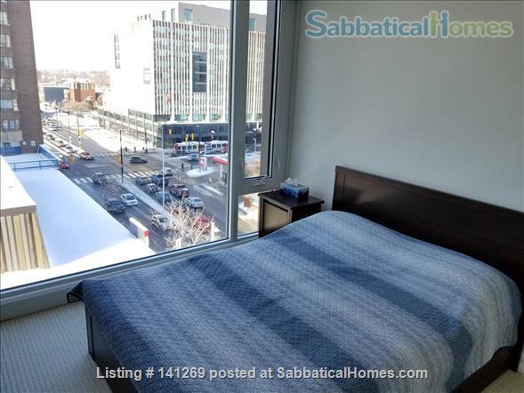 Fully Furnished 2 Bedroom + 2 Bath Condo, 5 min walk to U Ottawa Home Rental in Ottawa, Ontario, Canada 6
