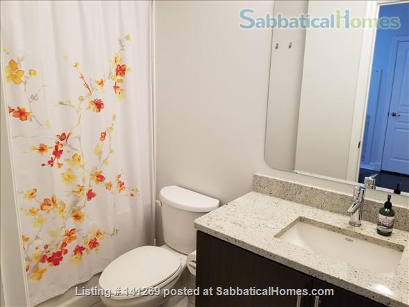 Fully Furnished 2 Bedroom + 2 Bath Condo, 5 min walk to U Ottawa Home Rental in Ottawa, Ontario, Canada 7