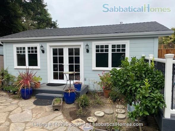 Very Cute Furnished backyard Guest House 2 Blocks to ocean, 5 min. walk downtown AVAILABLE 6/1/21 $3000/mo. WALKING SCORE of 90!! Home Rental in Santa Cruz 1