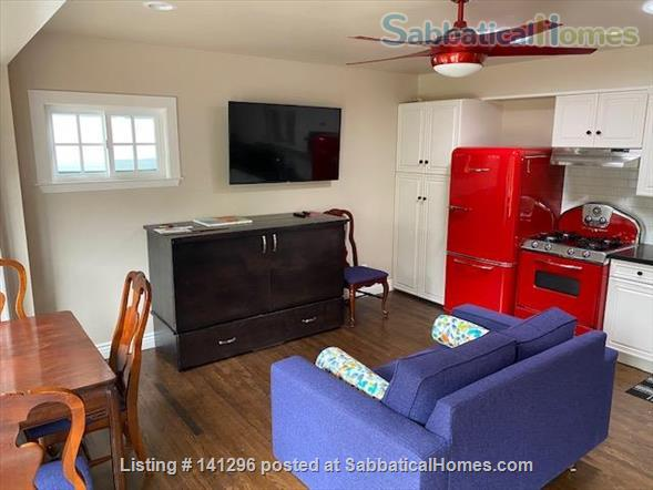 Very Cute Furnished backyard Guest House 2 Blocks to ocean, 5 min. walk downtown AVAILABLE 6/1/21 $3000/mo. WALKING SCORE of 90!! Home Rental in Santa Cruz 2