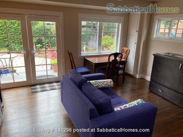 Very Cute Furnished backyard Guest House 2 Blocks to ocean, 5 min. walk downtown AVAILABLE 6/1/21 $3000/mo. WALKING SCORE of 90!! Home Rental in Santa Cruz 4