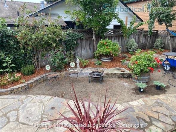 Very Cute Furnished backyard Guest House 2 Blocks to ocean, 5 min. walk downtown AVAILABLE 6/1/21 $3000/mo. WALKING SCORE of 90!! Home Rental in Santa Cruz 7