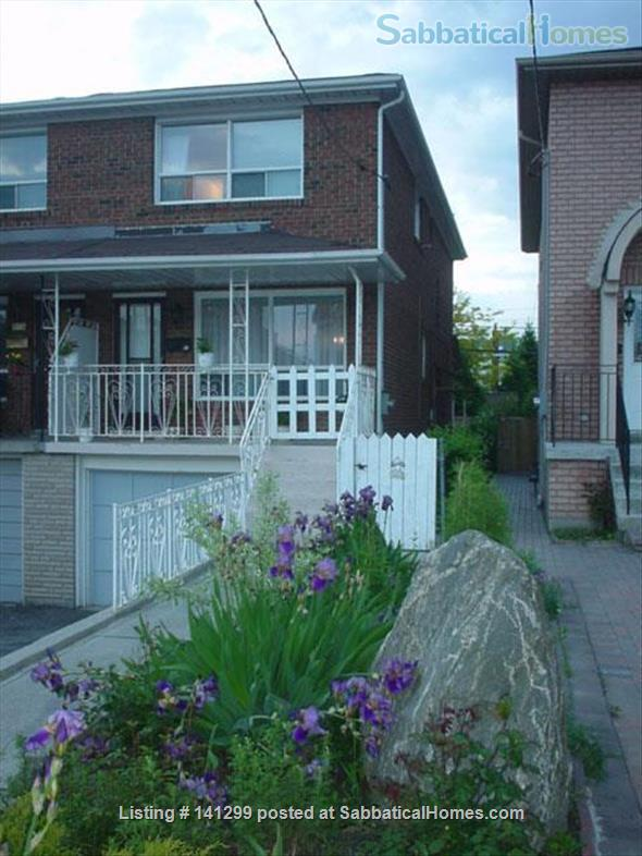 Ideal for MDs! Available immediately. Entire house (4 BR, 2 BA) with garden and garage  ONLY $3000/month ! Home Rental in Toronto 1 - thumbnail