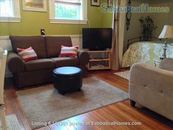 Fully Furnished Garden-Level Apartment Available for Short-Term Rentals Home Rental in Cambridge, Massachusetts, United States 0