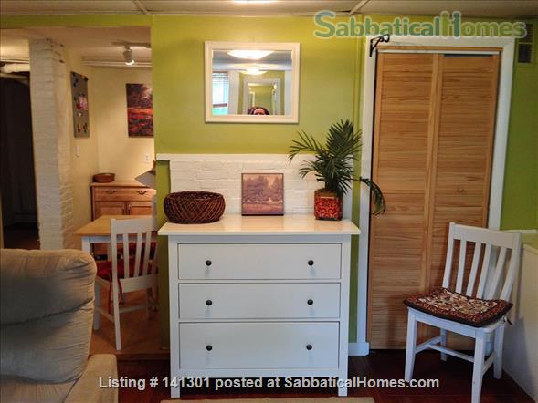 Fully Furnished Garden-Level Apartment Available for Short-Term Rentals Home Rental in Cambridge, Massachusetts, United States 2