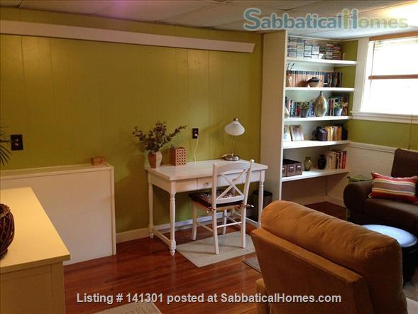 Fully Furnished Garden-Level Apartment Available for Short-Term Rentals Home Rental in Cambridge, Massachusetts, United States 4