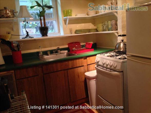 Fully Furnished Garden-Level Apartment Available for Short-Term Rentals Home Rental in Cambridge, Massachusetts, United States 5