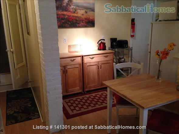 Fully Furnished Garden-Level Apartment Available for Short-Term Rentals Home Rental in Cambridge, Massachusetts, United States 6