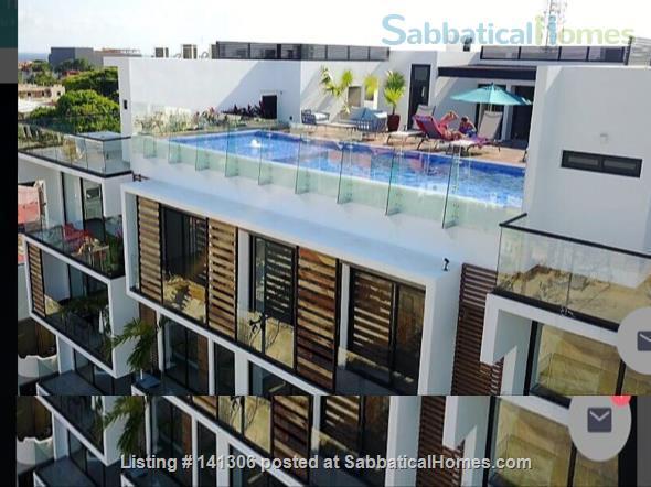 Spacious 2 or 3 BR modern apartment in central Playa del Carmen Home Rental in Playa del Carmen, Q.R., Mexico 1