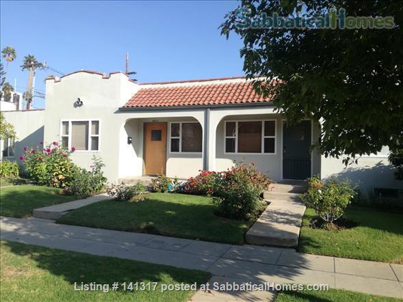 Private Spanish style Duplex Unit Mid-Santa Monica  Home Rental in Santa Monica, California, United States 1