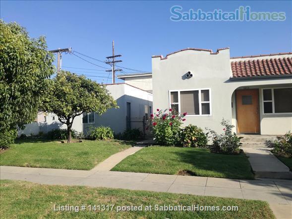 Private Spanish style Duplex Unit Mid-Santa Monica  Home Rental in Santa Monica, California, United States 0