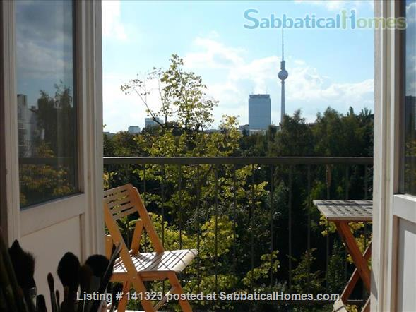 Berlin - sunny flat with great view Home Rental in Berlin, Berlin, Germany 4