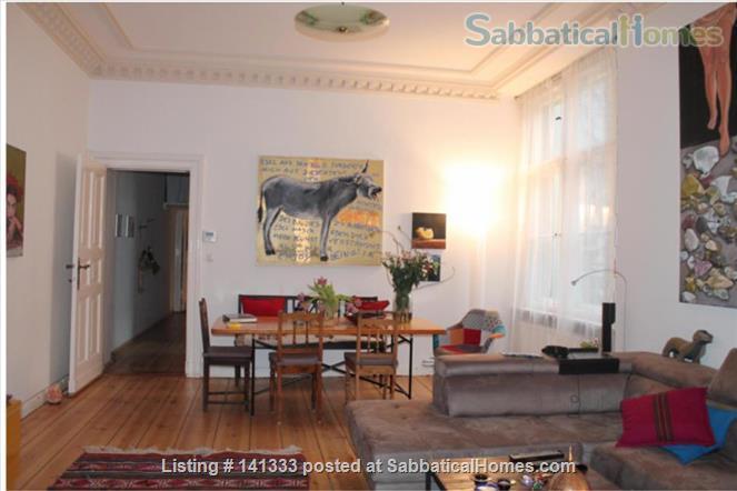 Beautiful 4 room in a  shared flat with Balcony in Berlin Schoeneberg - 140 qm Home Rental in Berlin, Berlin, Germany 1