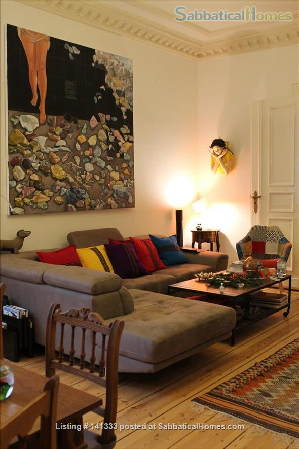 Beautiful 4 room in a  shared flat with Balcony in Berlin Schoeneberg - 140 qm Home Rental in Berlin, Berlin, Germany 5