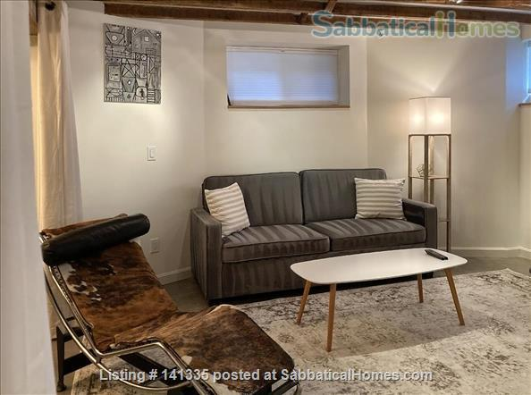 Spacious Garden-Level Loft near Harvard square Home Rental in Cambridge, Massachusetts, United States 2