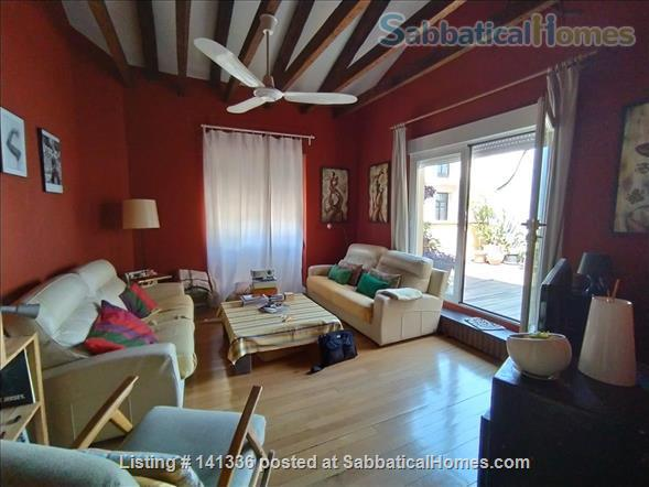 House of 180 meters with terrace in Malasaña / Gran Vía. Fully furnisheda. Home Rental in Madrid 1