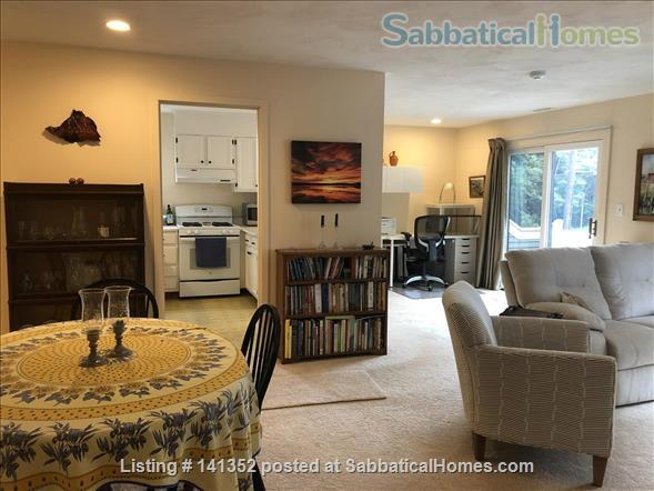 Concord: Furnished 1 bedroom condo - walk to commuter rail, shops, restaurants Home Rental in Concord, Massachusetts, United States 0