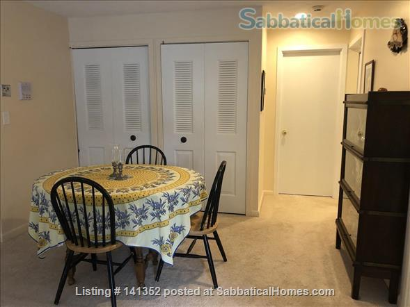 Concord: Furnished 1 bedroom condo - walk to commuter rail, shops, restaurants Home Rental in Concord, Massachusetts, United States 2