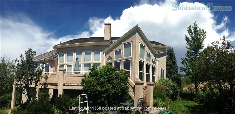 Colorado Rocky Mountain Views Home Rental in Monument, Colorado, United States 1