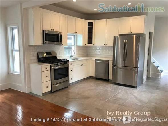 4 Beautiful Rooms for rent with private bath in recently renovated 5 bedroom 5 bathroom house Home Rental in Somerville, Massachusetts, United States 1