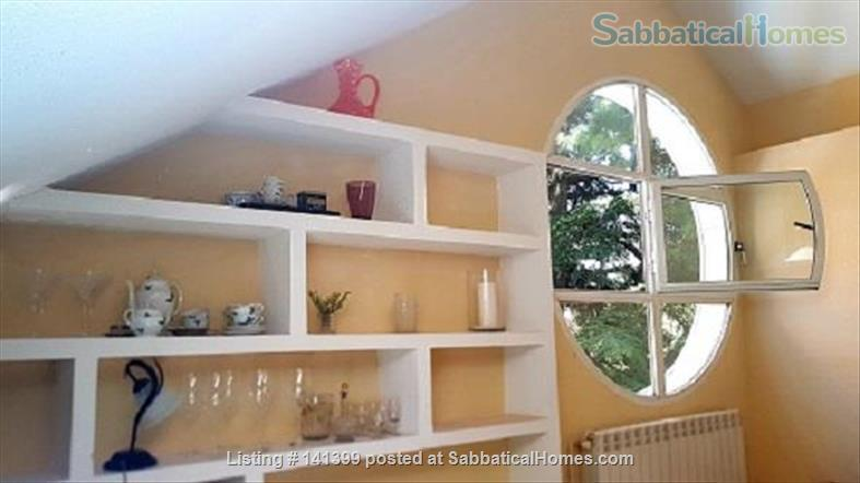 Light-filled, roomy and peaceful two-bedroom apartment at San Lorenzo de El Escorial, Madrid, Spain. Perfect for writing or holidays. Home Exchange in San Lorenzo de El Escorial, Comunidad de Madrid, Spain 1
