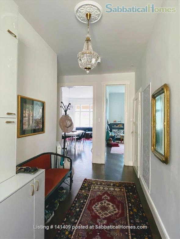 Four-Room Art Nouveau Apartment for Rent (XIII District) Home Rental in Budapest, , Hungary 0