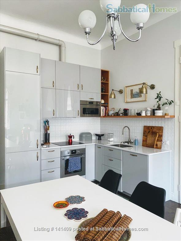 Four-Room Art Nouveau Apartment for Rent (XIII District) Home Rental in Budapest, , Hungary 3