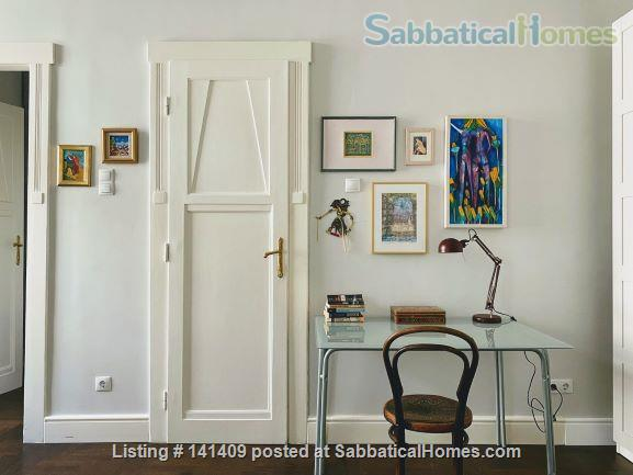 Four-Room Art Nouveau Apartment for Rent (XIII District) Home Rental in Budapest, , Hungary 7