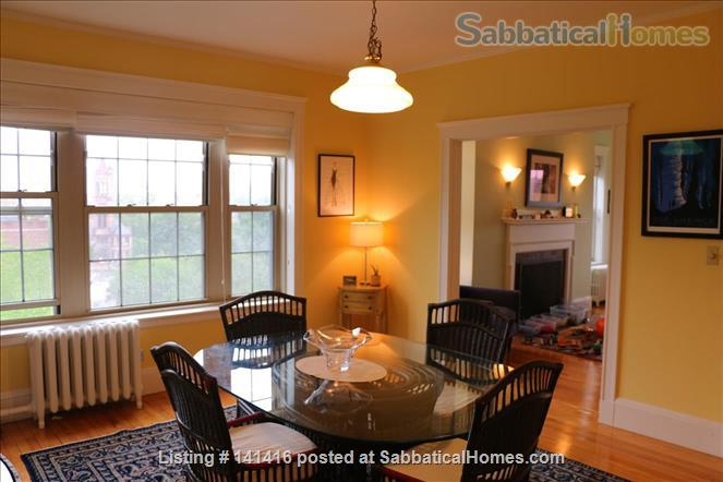 Large, cheerful, light-filled & charming 2-bedroom apartment (Harvard Square) Home Rental in Cambridge, Massachusetts, United States 4