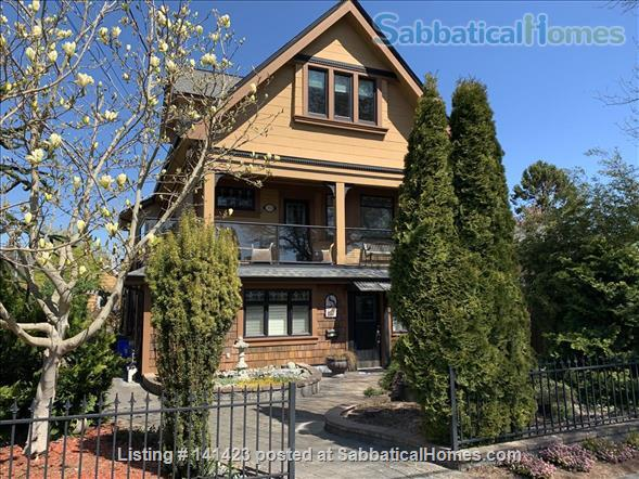 Chapman Street Loft - Close to Ocean, Park and Cook Street Village Home Rental in Victoria, British Columbia, Canada 1