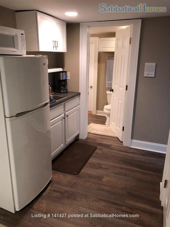 1 Bdr, 1 Bath, Fully Furnished Lower Level in Private Home on Franklin St. Home Rental in Chapel Hill, North Carolina, United States 1