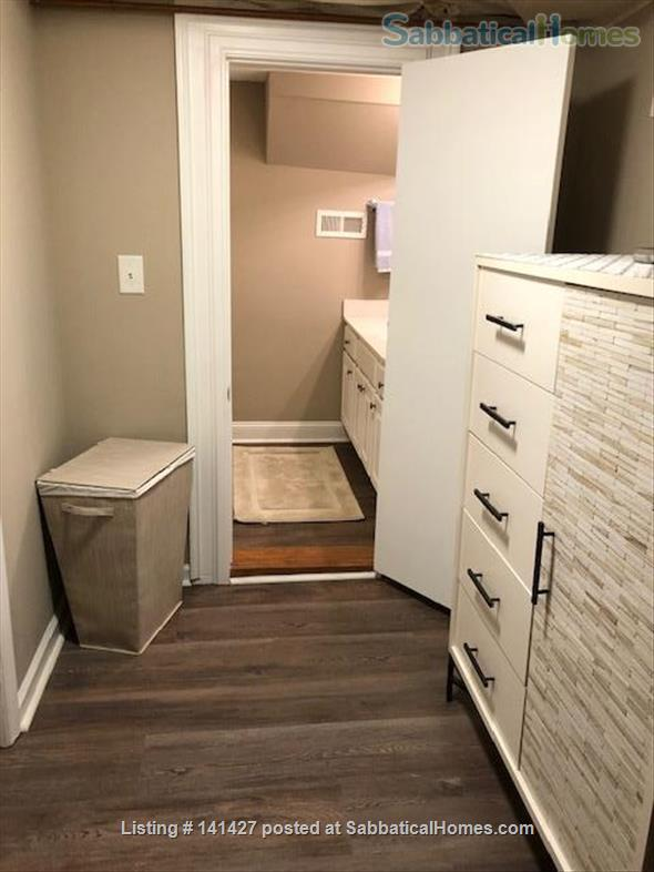 1 Bdr, 1 Bath, Fully Furnished Lower Level in Private Home on Franklin St. Home Rental in Chapel Hill, North Carolina, United States 4