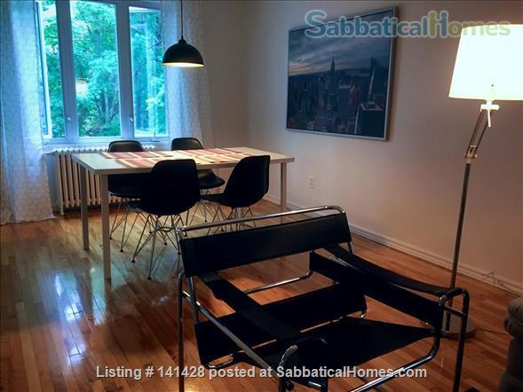 Modern apartment with a terrace in NDG Home Rental in Montreal, Quebec, Canada 0