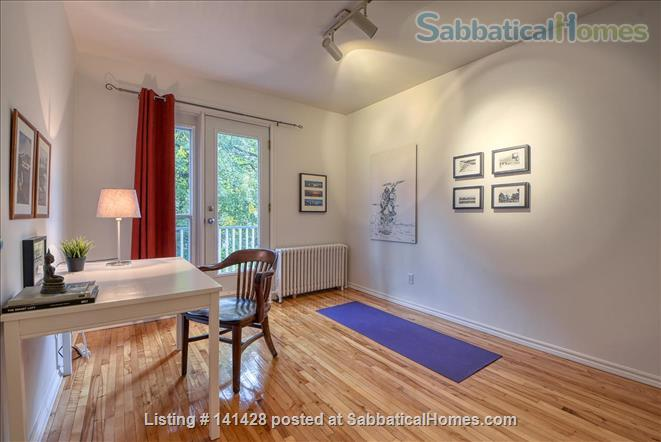 Modern apartment with a terrace in NDG Home Rental in Montreal, Quebec, Canada 6