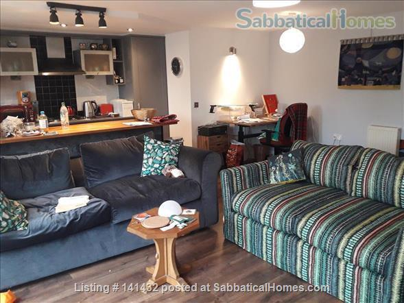 Double ensuite room for academic lodger in Edinburgh Home Rental in Leith, Scotland, United Kingdom 5