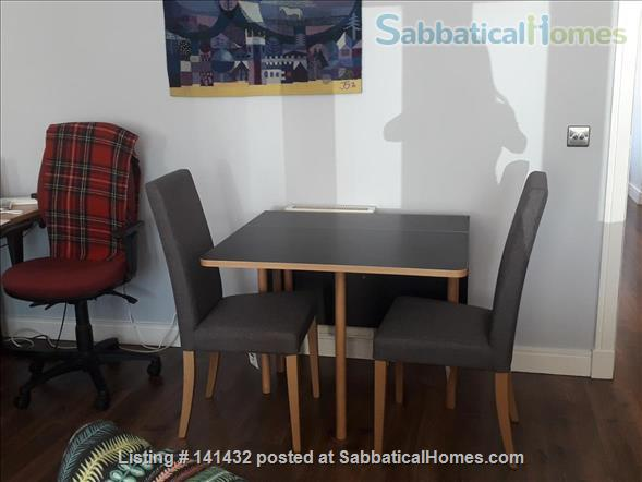 Double ensuite room for academic lodger in Edinburgh Home Rental in Leith, Scotland, United Kingdom 6