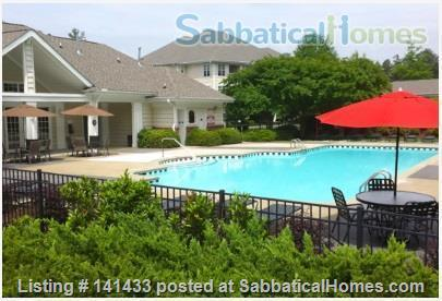 Luxurious, Large Condo/POOL Darling Condo, end unit, downstairs Home Rental in Chapel Hill, North Carolina, United States 5