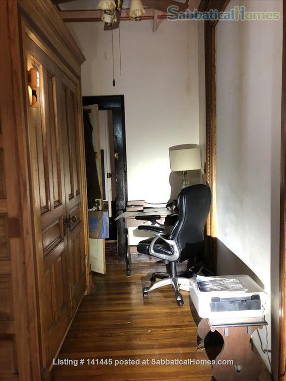 Quiet room available in a Sugar Hill family brownstone Home Rental in New York, New York, United States 2