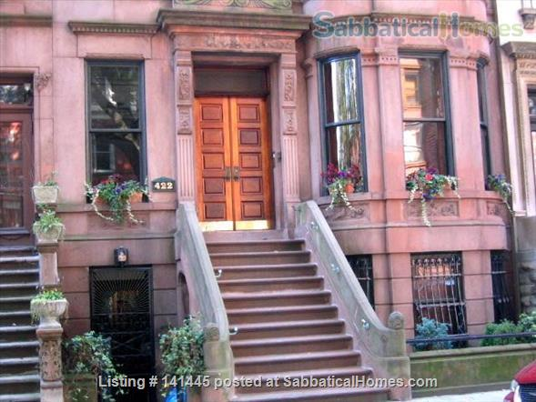 Quiet room available in a Sugar Hill family brownstone Home Rental in New York, New York, United States 7