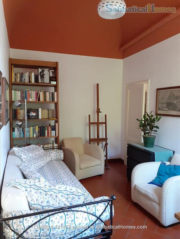 silent apartment overlooking a garden Home Rental in Florence, Toscana, Italy 4