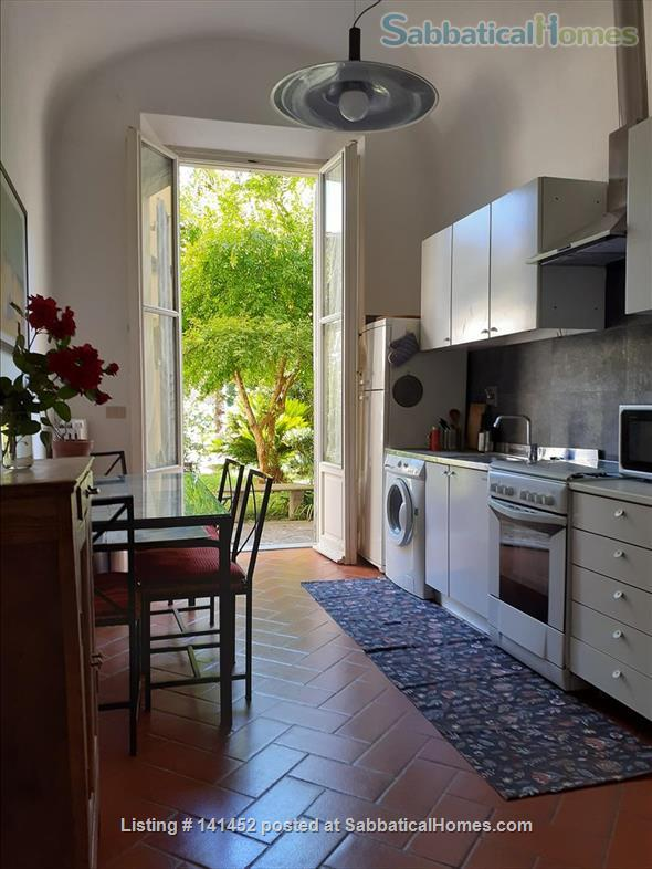 silent apartment overlooking a garden Home Rental in Florence, Toscana, Italy 7