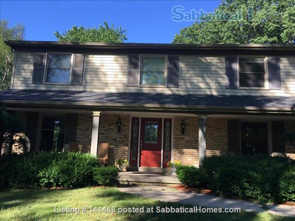Beautiful, fully furnished home 10 minutes away from UW Madison Home Rental in Madison, Wisconsin, United States 1