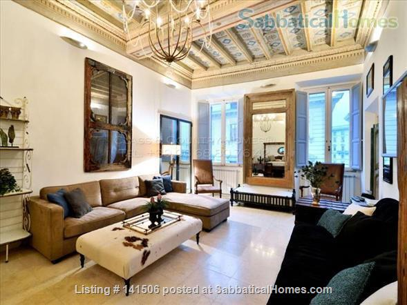 Luxury Apartment for Rent in Rome - Historic Center Home Rental in Rome, Lazio, Italy 1