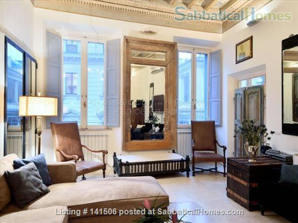 Luxury Apartment for Rent in Rome - Historic Center Home Rental in Rome, Lazio, Italy 0