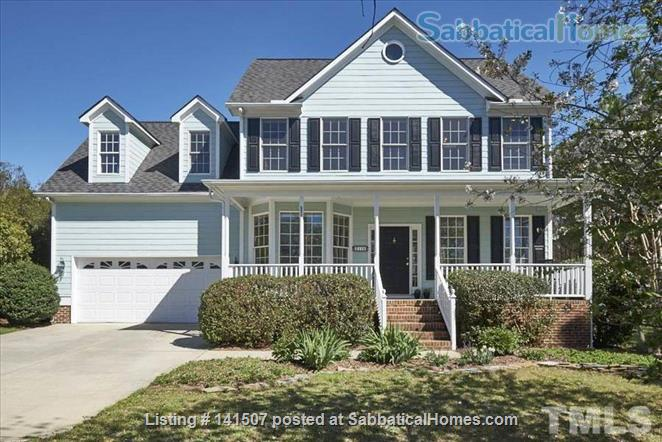 Large 4 Bedroom House on 1/2 acre - 2 miles to Duke, 9 miles to UNC-CH Home Rental in Durham, North Carolina, United States 1