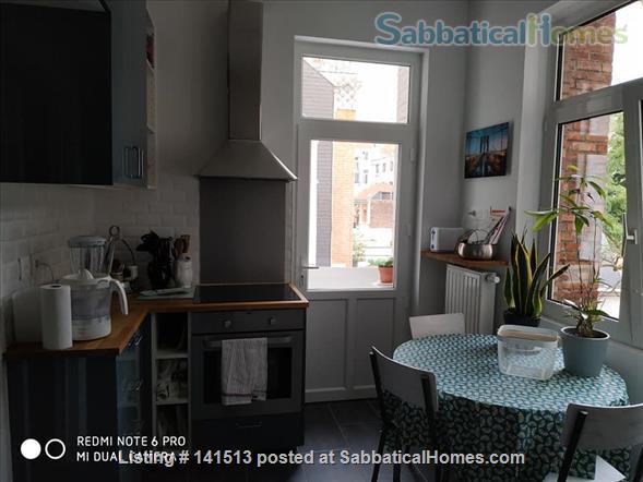 fully renovated 2-bedroom flat on Av Louise Home Rental in Bruxelles, Bruxelles, Belgium 0