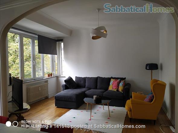 fully renovated 2-bedroom flat on Av Louise Home Rental in Bruxelles, Bruxelles, Belgium 8