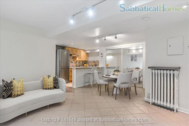 Beautiful I bedroom basement Apartment in the Annex Home Rental in Toronto, Ontario, Canada 1