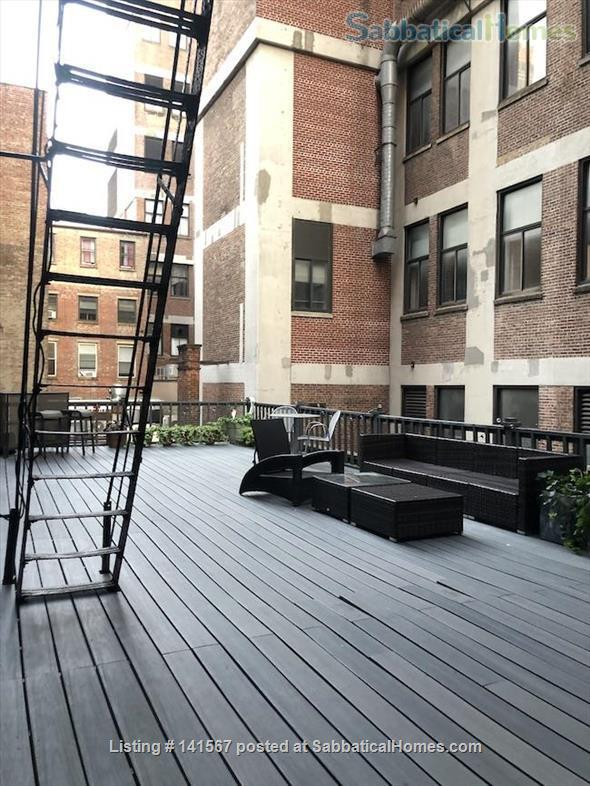 Unique 1BR loft apartment w/large outdoor terrace - across from NYU Home Rental in New York 2